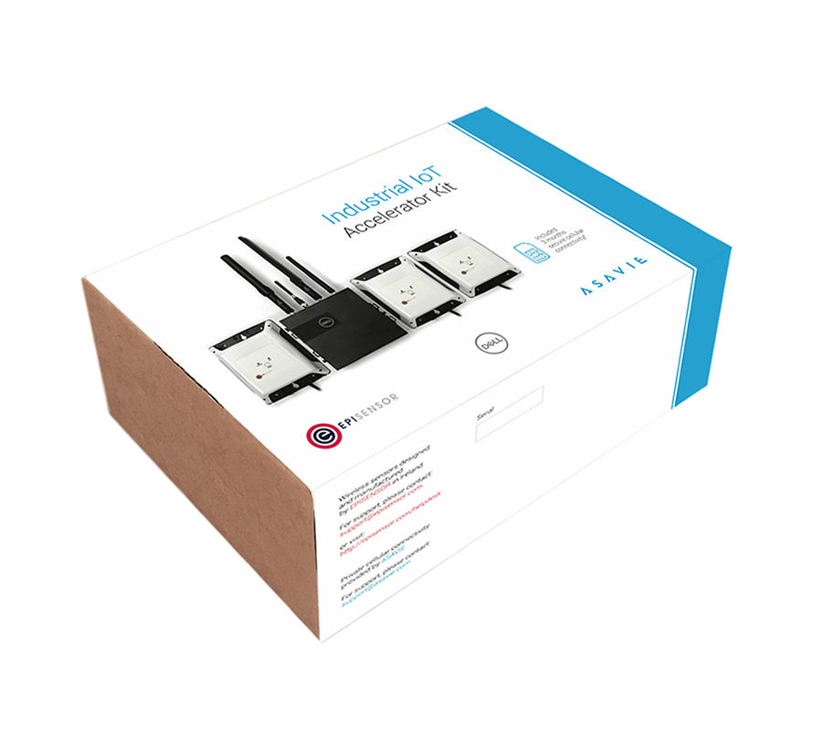 Asavie Industrial IoT Accelerator Kit