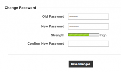 Change Gateway Password